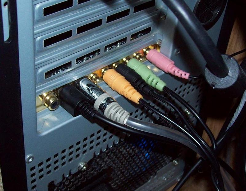 Подключение системы 5.1 к компьютеру