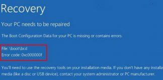 Ошибка с кодом 0xc000000f при загрузке Windows 7/10 – как исправить?