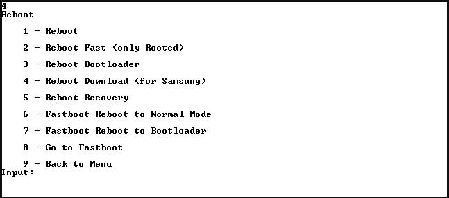 Переход в режим Fastboot Mode с помощью программы Adb Run