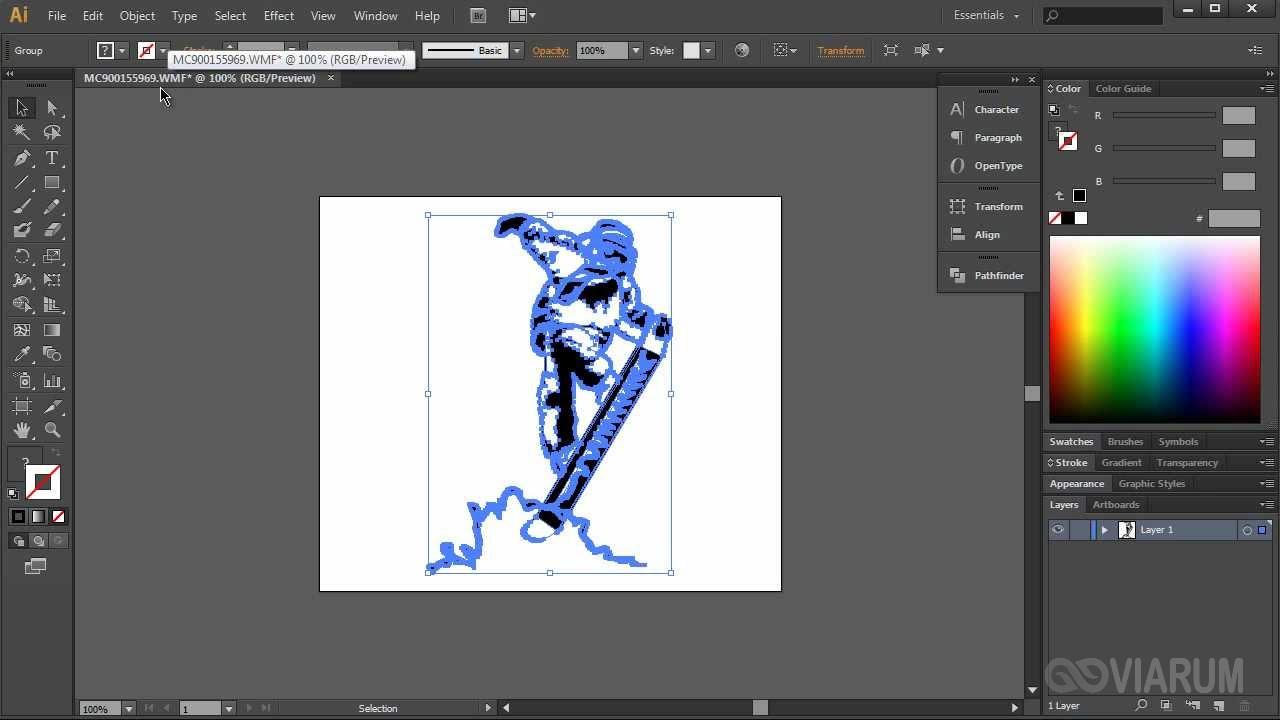 Редактирование SVG в Adobe Illustrator