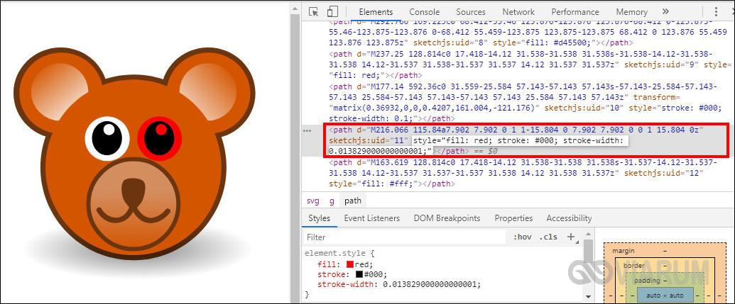 Изменение цвета SVG через стили CSS