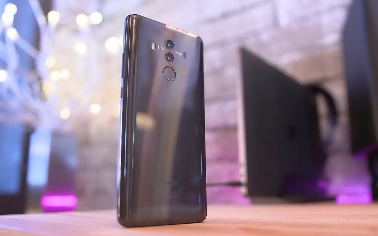 Дизайн задней стороны корпуса Huawei Mate 10 Pro