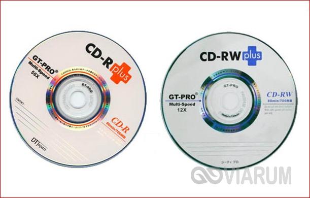 Диски CD-R и CD-RW