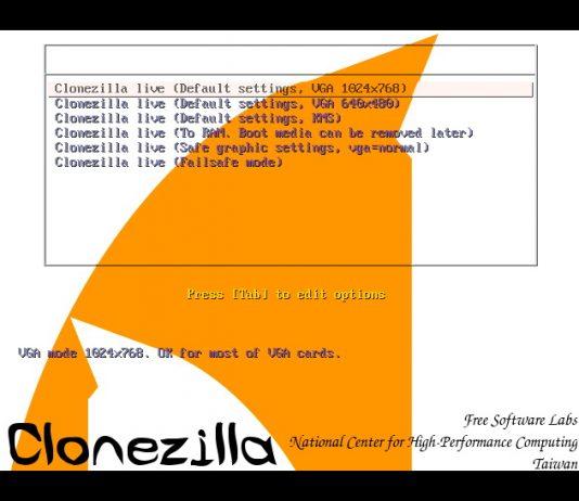 Как с помощью Clonezilla клонировать диск с Windows 8.1/10