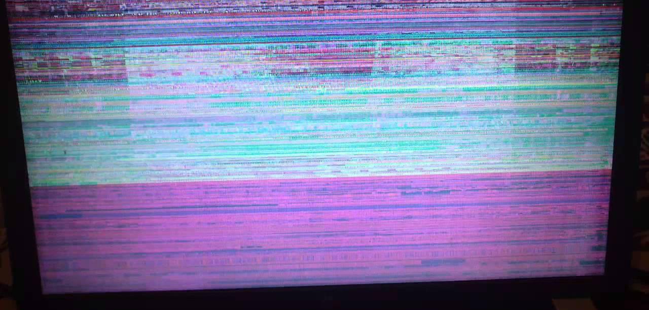 Мерцание экрана монитора