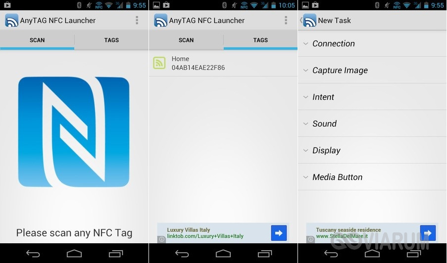 AnyTAG NFC Launcher