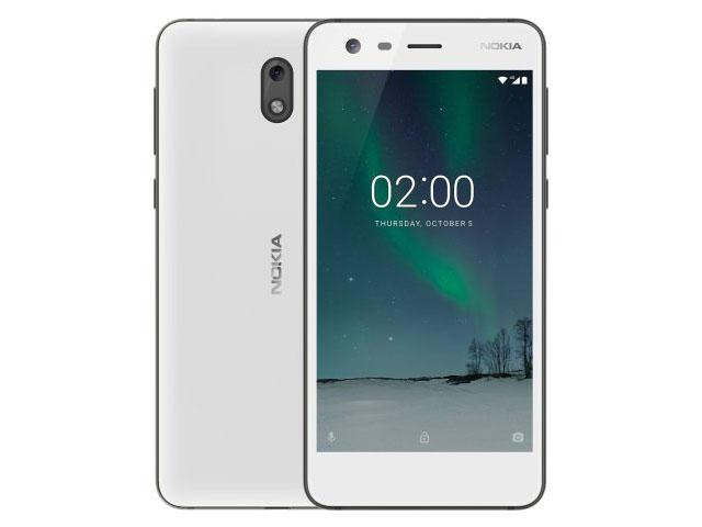 Смартфон Nokia 2 белый цвет