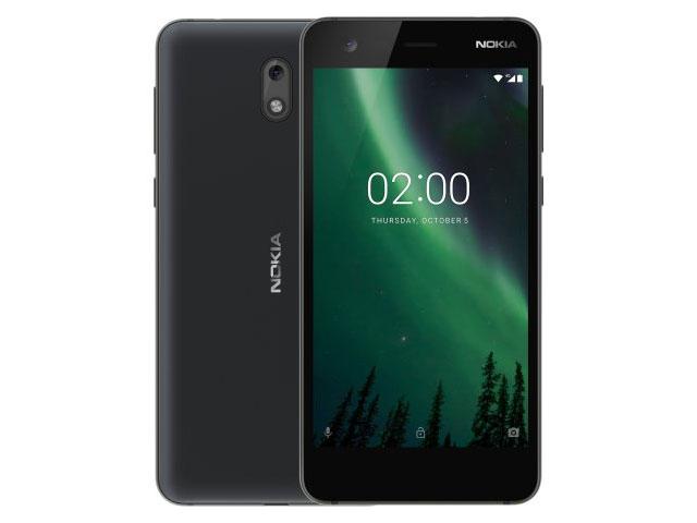 Смартфон Nokia 2 черный цвет