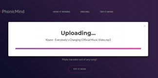 PhonicMind – качественный онлайн-сервис для удаления голоса из песен
