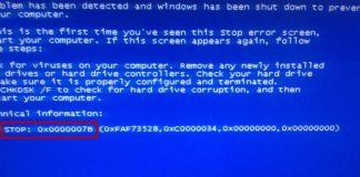 Ошибка Stop 0x0000007b при загрузке или установке Windows