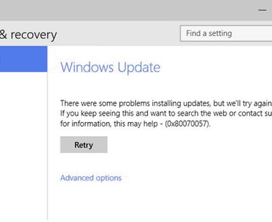 Как исправить ошибку 0x80070057 Центра обновления Windows 7/10?
