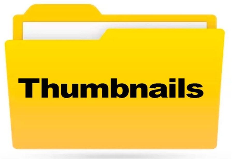 Папка thumbnails