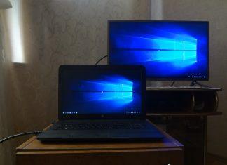 Подключаем ноутбук к телевизору через HDMI и Wi-Fi