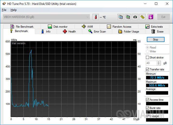 Программа HD Tune Pro