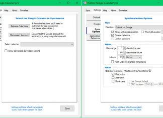 OGCS – утилита для синхронизации календарей Outlook и Google