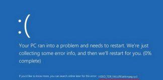 Ошибка «VIDEO TDR FAILURE» в Windows 10 – как исправить?