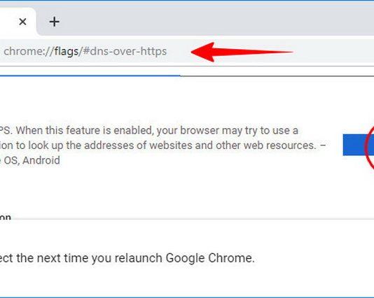 Как включить DNS-over-HTTPS в Google Chrome