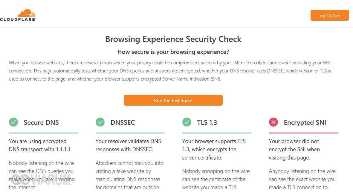 Проверка защищенности браузера
