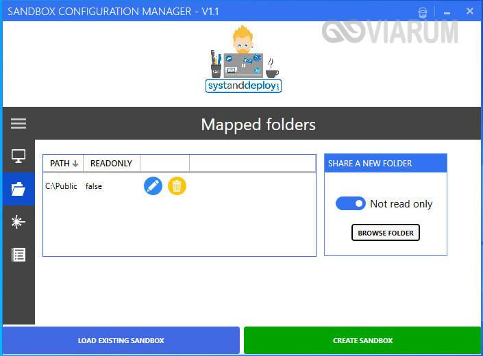 Mapped Folders