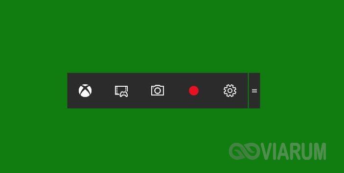 Игровая панель Windows 10